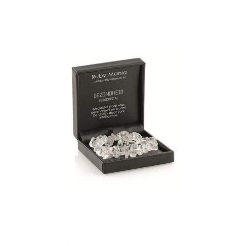 Ruby Mania Armband Bergkristal Nugget (Model 2)