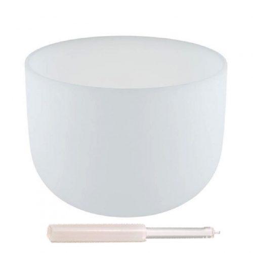"""Kristallen klankschaal F-toon """"432 Hz"""" (35 cm)"""