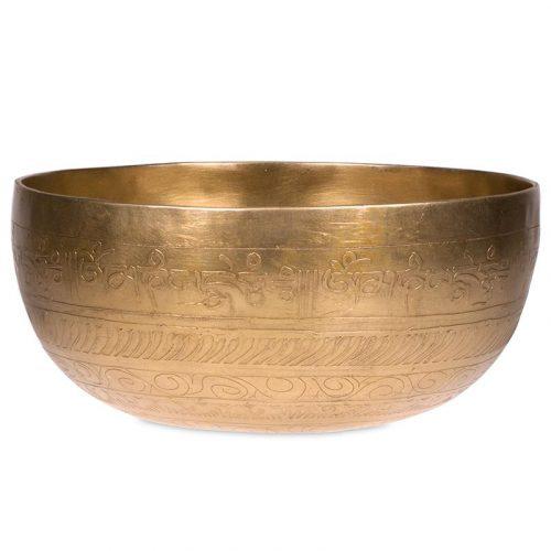Klankschaal Tibet Gegraveerd (33 cm)
