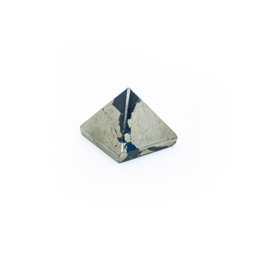 Piramide Edelsteen Gouden Pyriet (25 mm)