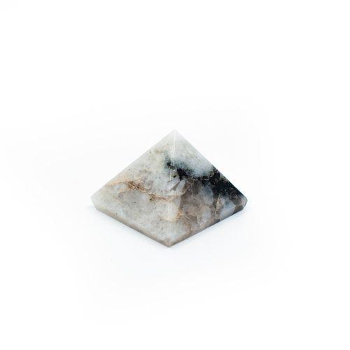 Piramide Edelsteen Regenboog Maansteen (25 mm)
