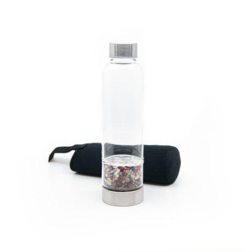 Spiru Edelsteen Waterfles Mix - 400 ml