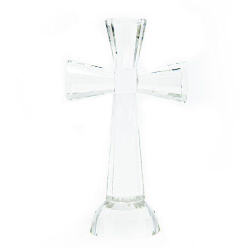 Regenboog Kristal Kruis (17cm)