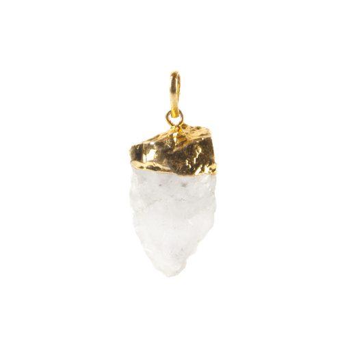 Hanger Ruwe Natuurlijke Bergkristal – 3-5 cm