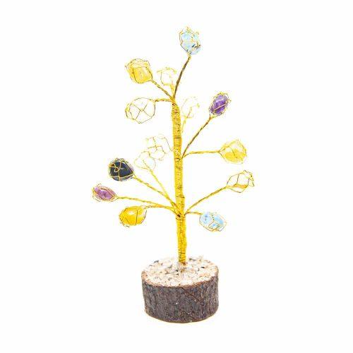 Edelsteenboompje Onyx Trommelstenen (18 cm)