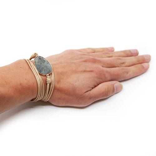 Edelsteen Armband Agaat Wikkel Armband