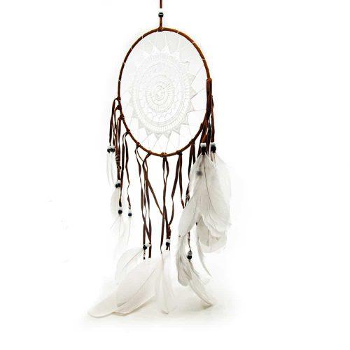 Dromenvanger Mandala Wit & Bruin