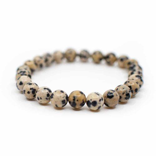 Edelsteen Armband Dalmatier Jaspis