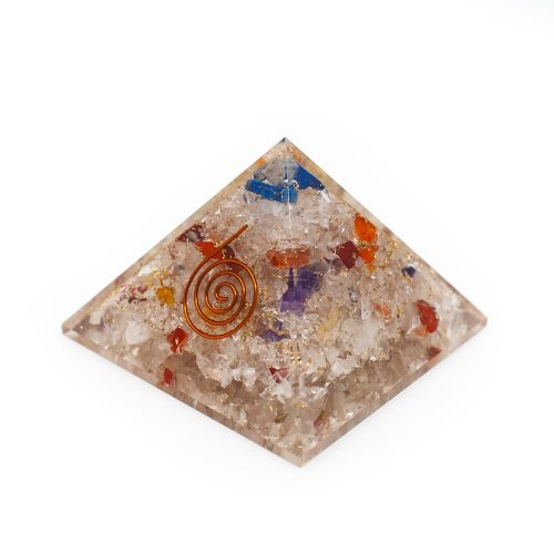 Orgonite Piramide Chakra (70 mm)
