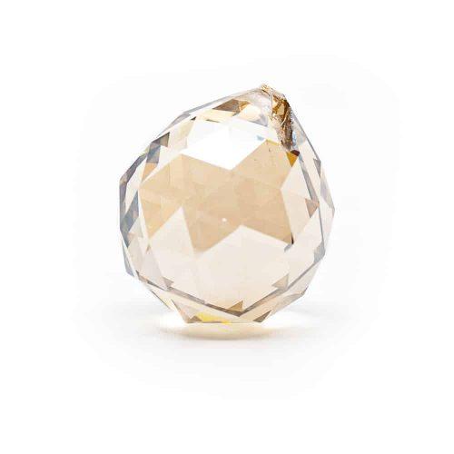 Regenboogkristal Bol Champagne (50 mm)