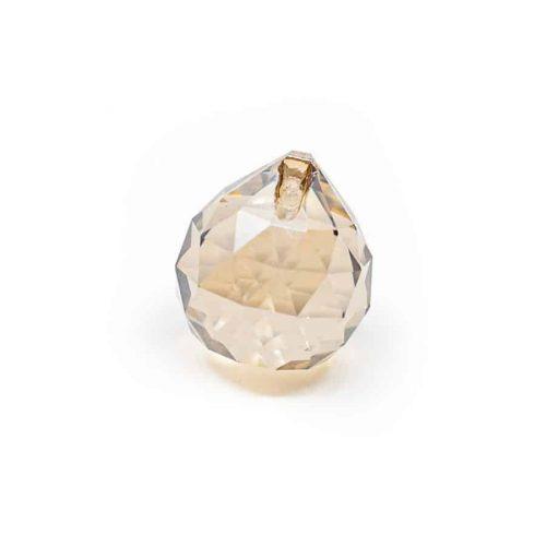 Regenboogkristal Bol Champagne (20 mm)