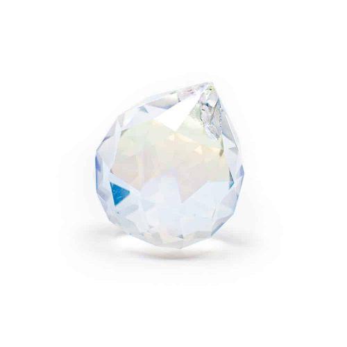 Regenboogkristal Bol Parelmoer (30 mm)
