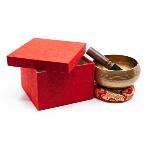 Klankschaal Geschenkset - Wiel van Dharma