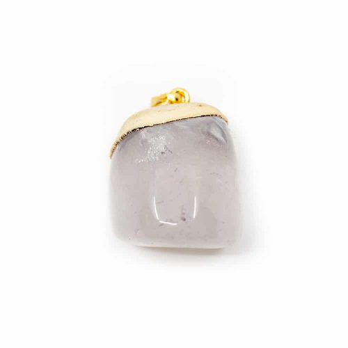 Bergkristal Trommelsteen Hanger