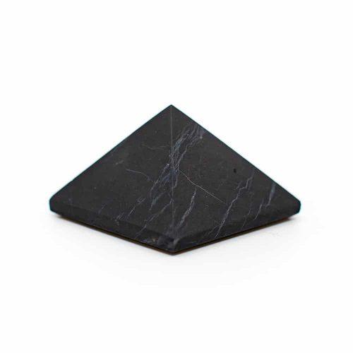 Piramide Ongepolijst Shungiet - 40 mm