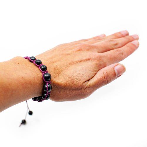"Shungiet Shambala Armband ""Camilla"" - Paars"
