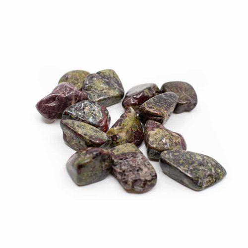 Trommelstenen Drakenbloed Jaspis (20 to 40 mm) - 200 gram
