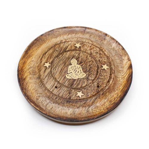Wierook Brander Boeddha Plate