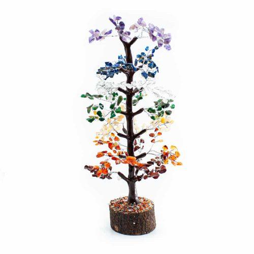 Edelsteenboom Chakra Edelstenen - 30 cm