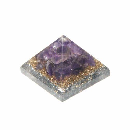 Orgonite Baby Piramide van Amethist