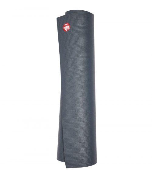 Manduka PRO Yogamat PVC Grijs 6 mm - Thunder - 180 x 66 cm