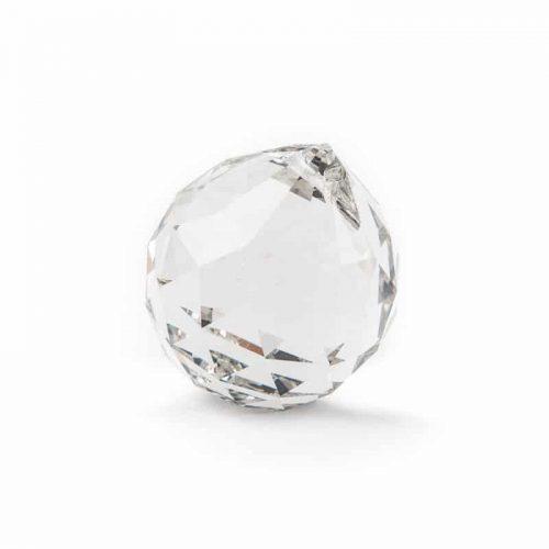 Regenboogkristal Bol Transparant (30 mm)