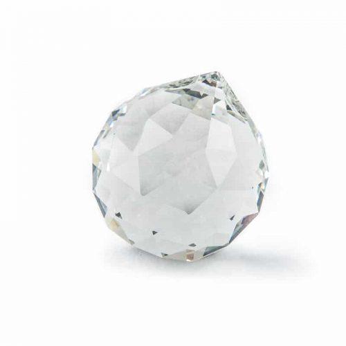 Regenboogkristal Bol Transparant (40 mm)