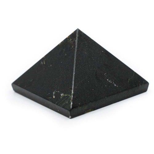 Piramide Edelsteen Zwarte Toermalijn (25 mm)