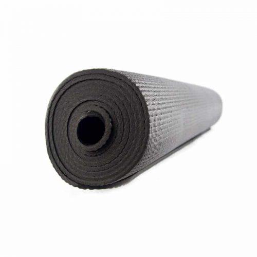 Yogi & Yogini Yogamat PVC Zwart 5 mm - 183 x 61 cm