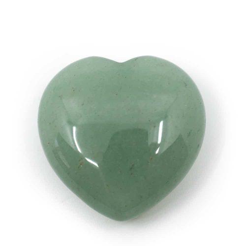 Edelstenen Hart Groene Aventurijn (30 mm)