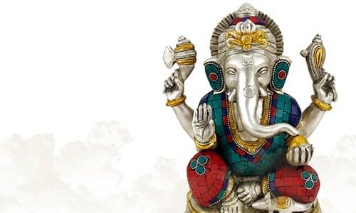 Ganesha Beelden