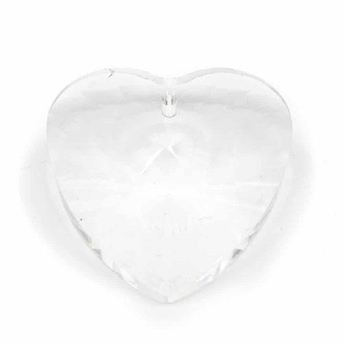 Regenboogkristal Hartvorm (40 mm)