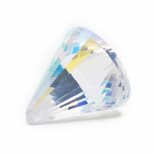 Regenboogkristal Kegel Parelmoer (40 mm)