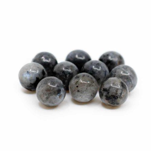 Edelsteen Losse Kralen Labradoriet - 10 stuks (6 mm)
