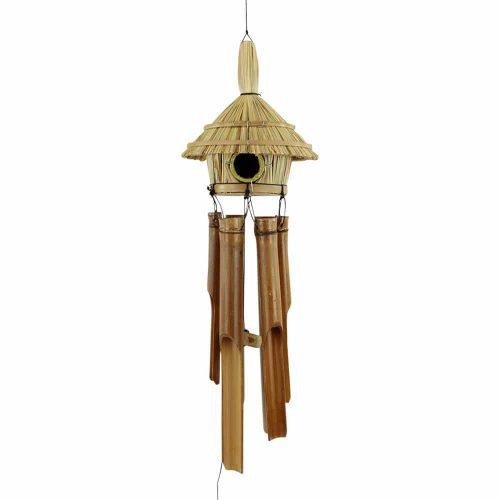 Windgong met Vogelhuisje S
