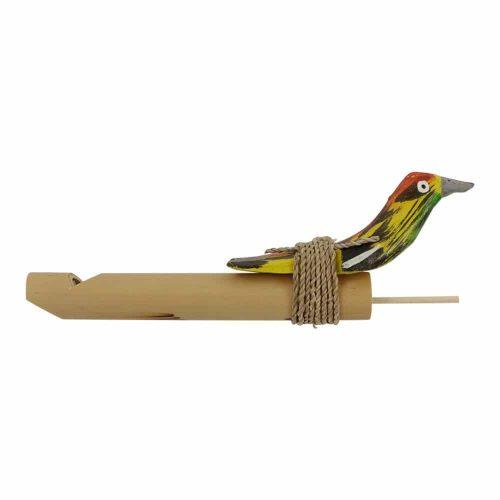 Fluitje met groene Vogel