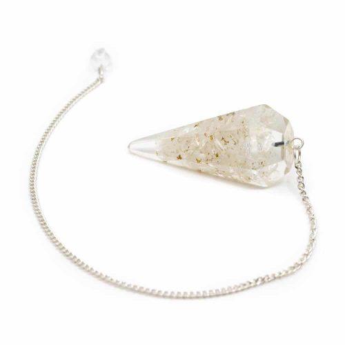 Pendel Edelsteen Bergkristal Orgone