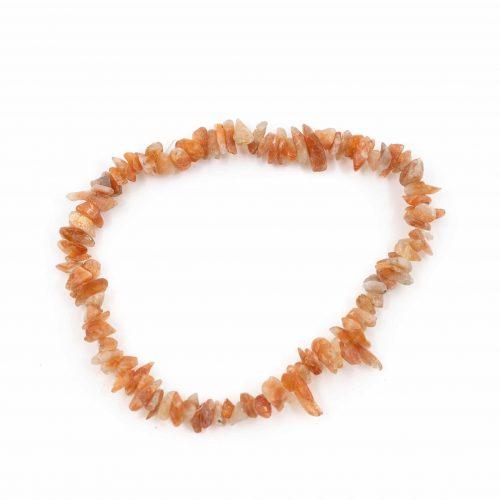 Edelsteen Splitarmband Carneool Oranje