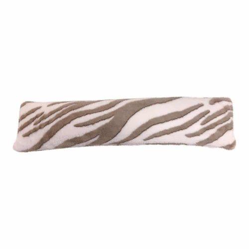Tochtkussen Imitatiebont Zebra (90 x 20 cm)