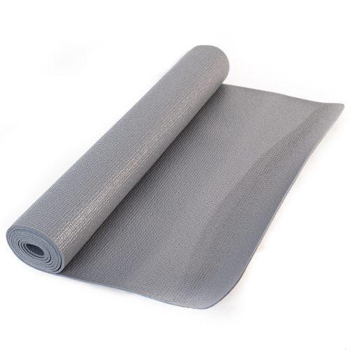 PVC Yogamat Grijs 4 mm - 183 x 61 cm