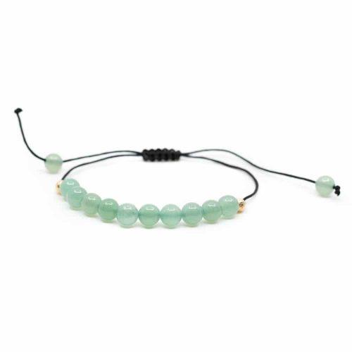 Edelsteen Armband Groene Aventurijn Verstelbaar