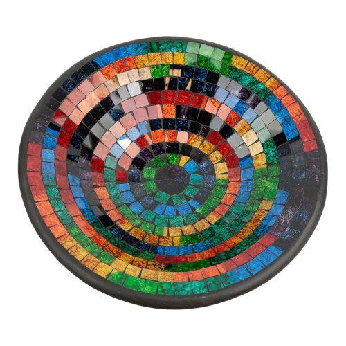 Kom Mozaïek Regenboogkleuren (38 cm)