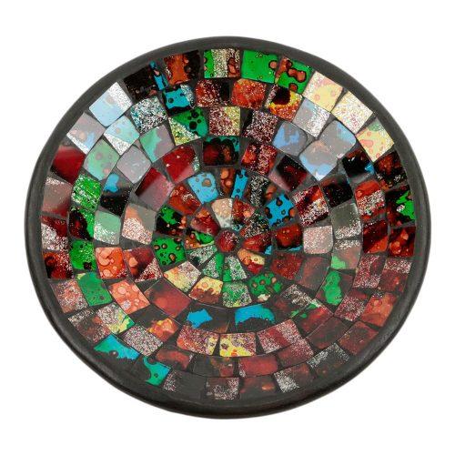 Kom Mozaïek Regenboogkleuren Mix (21 cm)
