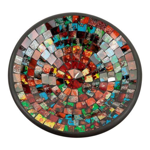 Kom Mozaïek Regenboogkleuren Mix (28 cm)