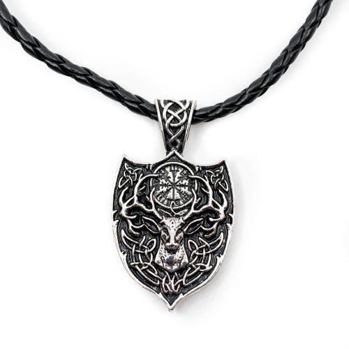 Amulet Viking Hert en Runenkompas