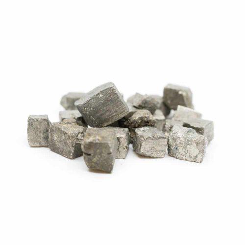 Ruwe Pyriet Edelsteen 1-2 cm  (100 gram)