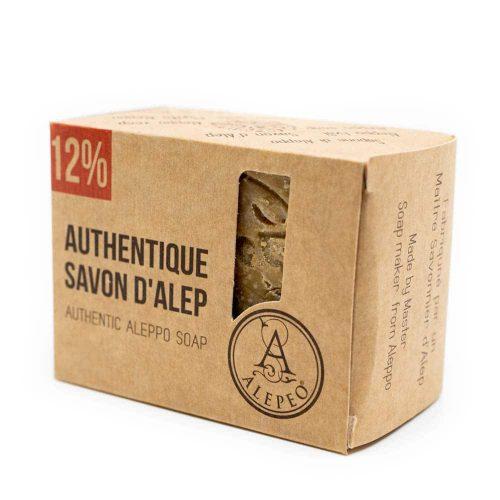 Aleppo Zeep Naturel - 12% Laurierolie - 200 gram