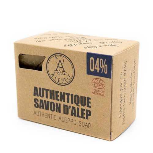 Aleppo Zeep Authentiek Ecocert - 4% Laurierolie - 200 gram