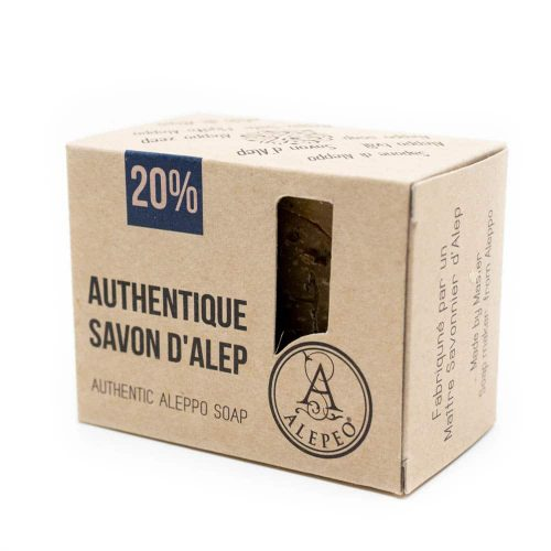 Aleppo Zeep Naturel - 20% Laurierolie - 200 gram