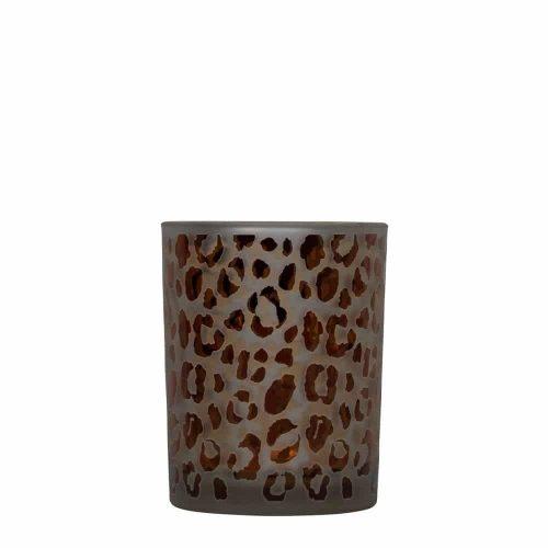 Waxinelichthouder Luipaard Stippen (12 x 10 cm)